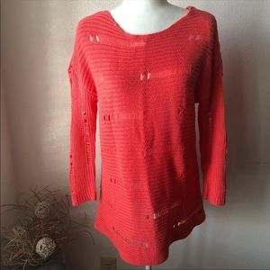 Volcom Easy Fit Lightweight Coral Sweater